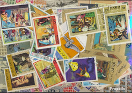 Oman Briefmarken-50 Verschiedene Marken - Oman