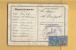 Carte D'Identité Ancienne De GELUCOURT En Moselle - Other