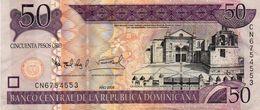 DOMINICAN REPUBLIC  50 PESOS ORO 2008 P-176Aa  Xf+++ - República Dominicana