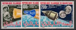 Mauritanie - 1966 - Poste Aérienne PA N°Yv. 51 à 53 - Cosmos - Neuf Luxe ** / MNH / Postfrisch - Mauritania (1960-...)