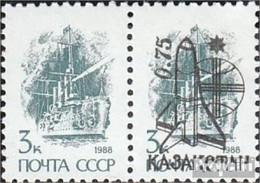 Kasachstan 9 Paar Postfrisch 1992 Weltraumflug - Kazakhstan