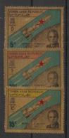Yemen (YAR) - 1968 - N°Mi. 710 à 712 - Komarov / Space - OR - Neuf Luxe ** / MNH / Postfrisch - Asia