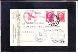 UPU  Carte Postale De L'Iran Pour Lucerne (CH) 1942 - Iran