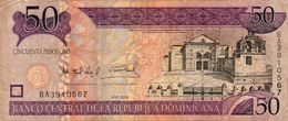 DOMINICAN REPUBLIC  50 PESOS ORO 2006 P-176a  Circ - República Dominicana