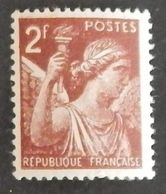 "FRANCE YT 653 NEUF**MNH ""TYPE IRIS"" ANNÉE 1944 - 1939-44 Iris"