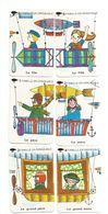 Jeu 7 Familles, Aviation - Avion, Hélicoptère, Parachute, Dirigeable, Planeur, Ballon (montgolfière), Fusée - Playing Cards (classic)