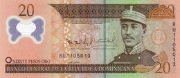 DOMINICAN REPUBLIC  20 PESOS ORO 2009 P-182a  UNC  POLYMER - República Dominicana