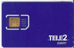 ESTONIA - GSM SIM CARD - TELE2 - Estonia
