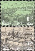 Bosnien-Herzegowina 151-152 (kompl.Ausg.) Postfrisch 1998 Stadtansichten - Bosnie-Herzegovine