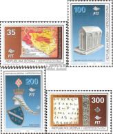 Bosnien-Herzegowina 20-23 (kompl.Ausg.) Postfrisch 1995 Geschichte Bosnien+Herzegowina - Bosnie-Herzegovine