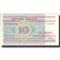 Billet, Bélarus, 10 Rublei, 2000, KM:23, TTB - Belarus