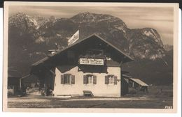 Landhaus Wilhelmine Rieger Partenkirchen, Herbststr. Aufnahme Und Verlag C. Rietzschel, Garmisch. Willy Hansen Cycliste - Denemarken