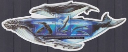 Vanuatu, N° 1110 à 1112 + Bloc 41 (Cachalot, Baleine à Bosse, Baleine Bleue), Neufs ** - Vanuatu (1980-...)