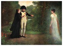 Lapina 969 - E Guillon, Napoléon Et La Reine Hortense à La Malmaison (8 Lignes) - Pittura & Quadri