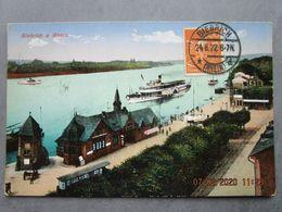CPA Allemagne Hesse  BIEBRICH A RHEIN - Bateau à Aubes 1922 - Wiesbaden