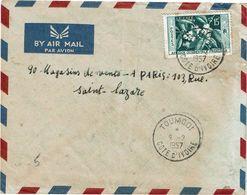 CTN63/CL- LETTRE DE LA COTE D'IVOIRE - Côte D'Ivoire (1960-...)