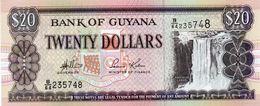 GUYANA 20 DOLLARS 2006  P-30  UNC - Guyana