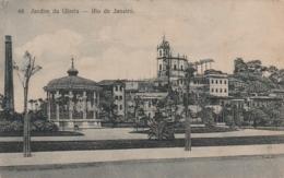 ***  RIO DE JANEIRO --  Jardin Da Gloria - Stamped TTB - Rio De Janeiro