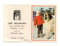 Petit Calendrier 1972 Les Boueurs Présentent Leurs Voeux - Format: 15x10.5 Cm - Calendriers