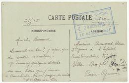 CPFM Hôpital St Frai Lourdes Hautes Pyrénées 1915 - Guerre De 1914-18