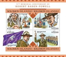 Salomon 2016, Scout, Baden Powell, Indian, 4val In BF - American Indians