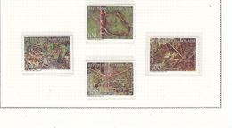 GABON 772/775 CHASSE A LA TRAPPE  LUXE NEUF SANS CHARNIERE MNH - Gabon (1960-...)