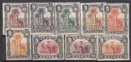 PORTUGAL. NYASSA Nr. 27-36. -33. MH. Camel And Giraf. - Nyassa