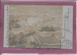 91.- Vue De MONTLHERY Prise Du Haut De La Tour  ( Carte Photo ) - Montlhery