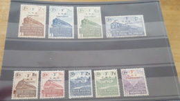 LOT507238 TIMBRE DE FRANCE NEUF* N°191 A 199 COLIS POSTAUX - Nuovi