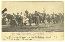 A1626[Postkaart] Raid Militaire International Bruxelles Ostende / Mr. Deremetz ... - Oostende
