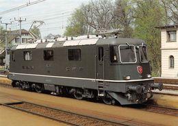 Schweizerische Bundesbahnen SBB-CFF-FFS - Elektrische Locomotive R 4/4 II 11376 - Treinen