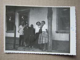 Serbia / Čoka - Family ( Real Photo 1963 ) - Servië