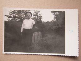 Serbia / Čoka - Grandparents ( Real Photo 1963 ) - Servië
