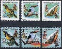 Mali   Oiseaux       1115/1117 ** + Timbres ** Du Bloc 68 - Birds