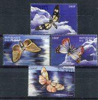 Mali      Papillons        1227/1230 ** - Butterflies
