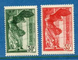 France - YT N° 354 Et 355 - Neuf Sans Charnière - 1937 - Unused Stamps