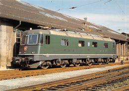 """Schweizerische Bundesbahnen SBB-CFF-FFS - Elektrische Locomotive Re 6/6 11655 """"Cossonay""""- Luzern 1979  - Schweiz - Treinen"""