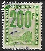 FRANCE   -   Colis-Postaux  -   1944.  Y&T N° 24 Oblitéré.   Train - Parcel Post