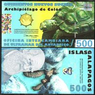 Galapagos Islands - 500 Sucres 12.02. 2009 UNC Lemberg-Zp - Billets