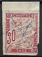 COLONIES  Emissions Générales    -   Timbres - Taxe   -   1893  .  Y&T N° 22 Oblitéré - Impuestos