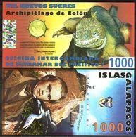 Galapagos Islands - 1000 Nuevos Sucres 2011 UNC Lemberg-Zp - Banknoten