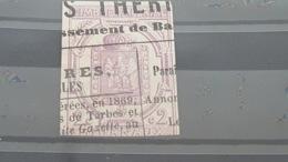 LOT507276 TIMBRE DE FRANCE OBLITERE N°1 JOURNEAUX - Periódicos