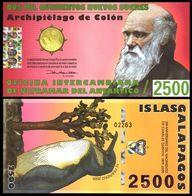 Galapagos Islands - 2500 Nuevos Sucres 2009 UNC Lemberg-Zp - Billets