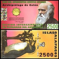 Galapagos Islands - 2500 Nuevos Sucres 2010 UNC Lemberg-Zp - Billets