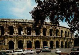 Dep 30 , Cpm NIMES , 18 , La Rome Française , Les Arenes (nombreuses Voitures) (22862) - Nîmes