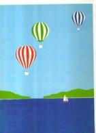 Richard AKERMAN Segelbaten, Montgolfieres - Autres Illustrateurs
