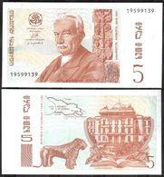 Georgia - 5 Lari 1995 UNC Lemberg-Zp - Georgië