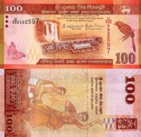 Sri Lanka 100 Rupees Banknote, 2016, P125, UNC - Sri Lanka