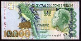 # # # Banknote Tome Und Principe 10.000 Dobras 2004 UNC # # # - São Tomé U. Príncipe