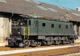 Schweizerische Bundesbahnen SBB-CFF-FFS - Elektrische Schnellzuglokomotive Ae 3/6 I 10685 Schweiz - Treinen